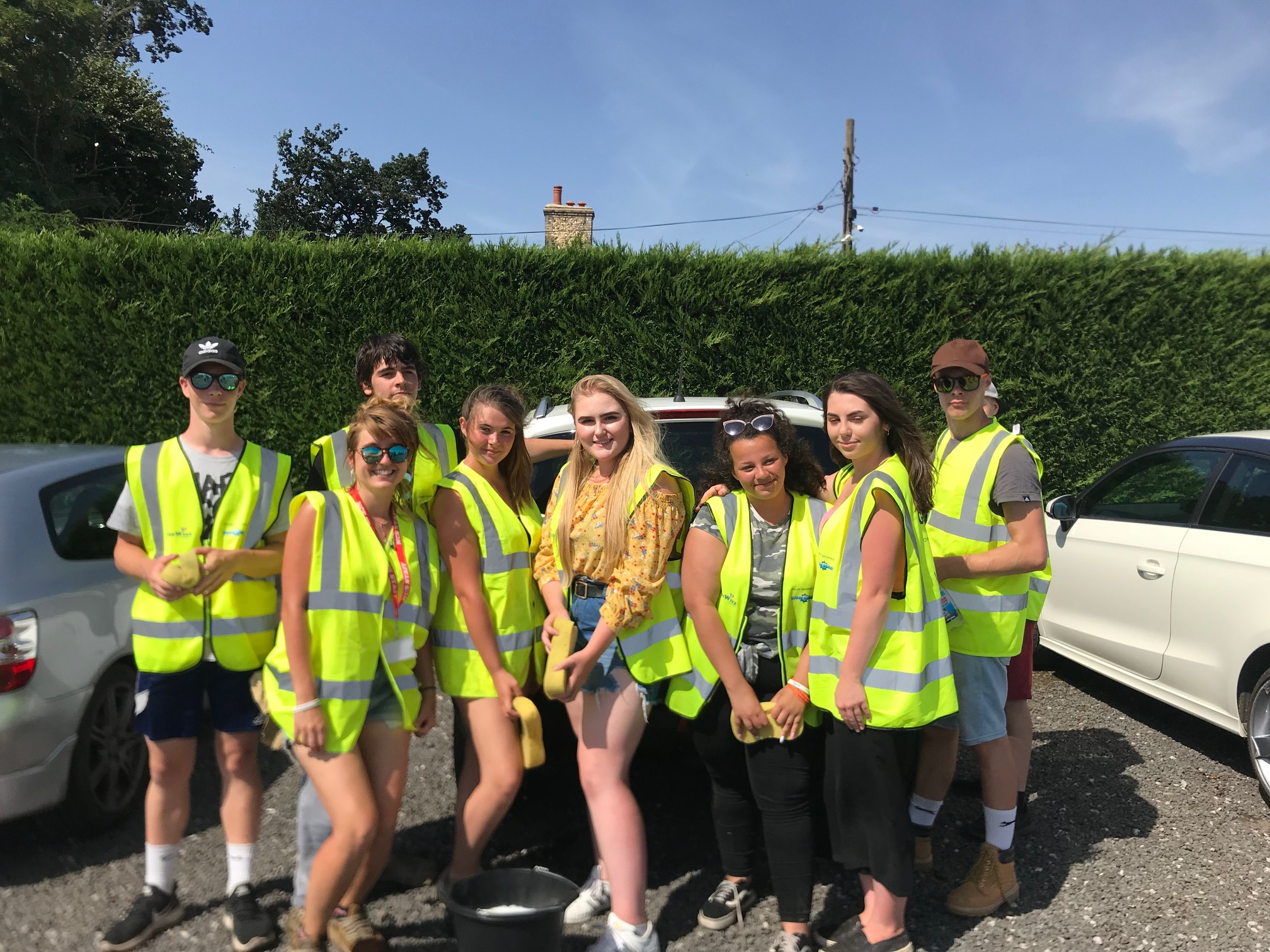 Students give up summer holidays to support GeeWizz