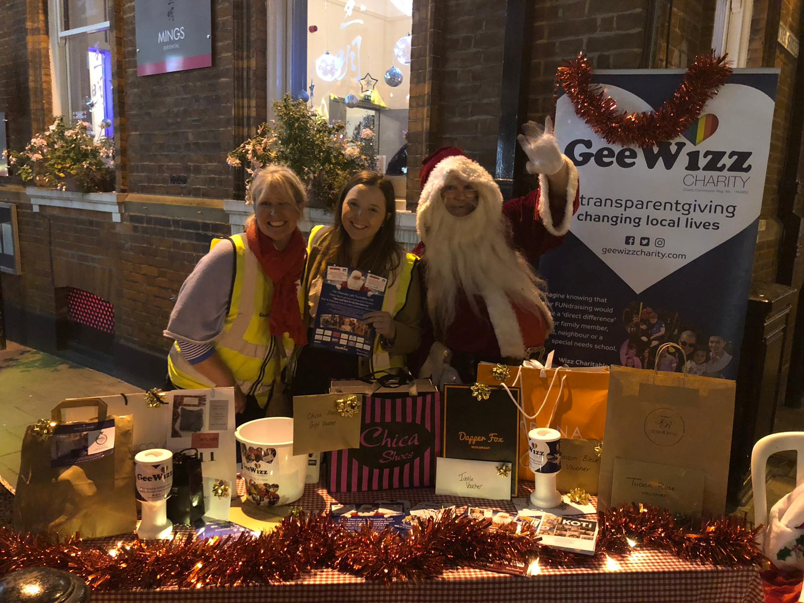Festive goodwill to GeeWizz has sparkled at Christmas