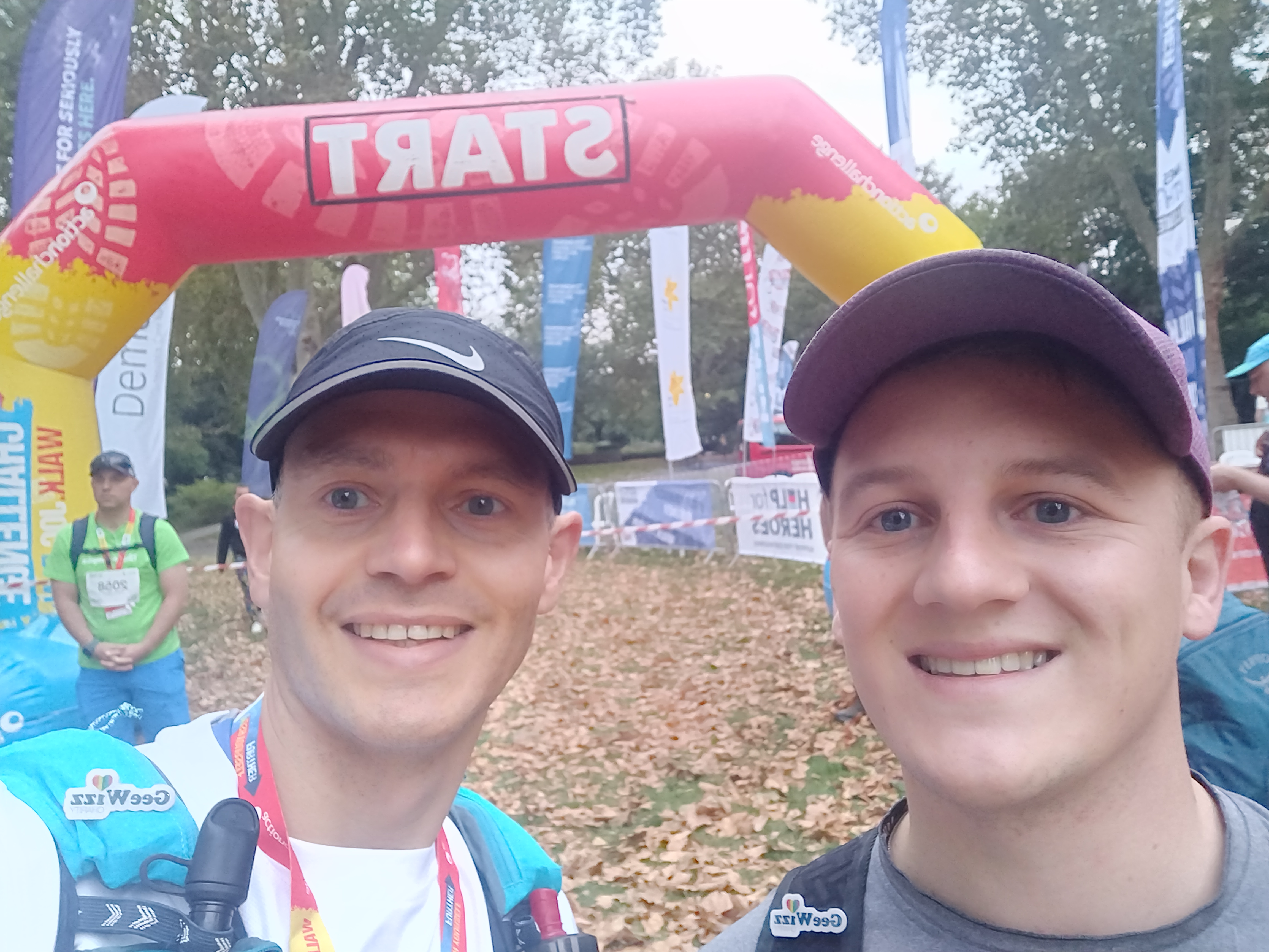 Matt Hunt and Justin Smith complete Thames Path Challenge